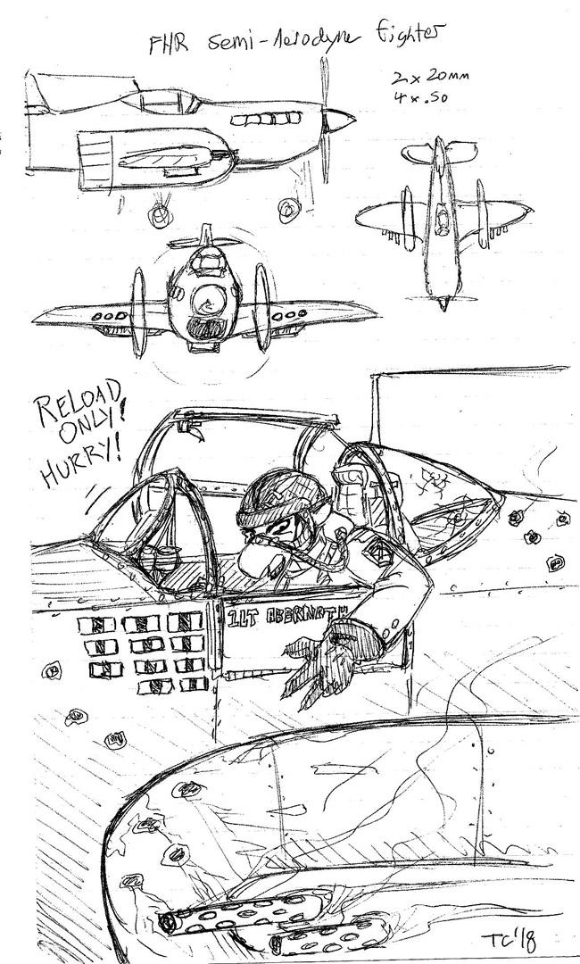 Scarlet - Air War Days