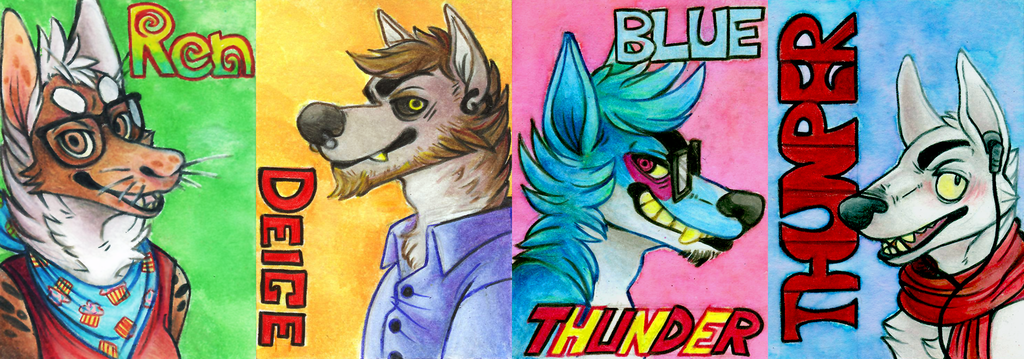 Traditional Bust Badges (FWA 2013)