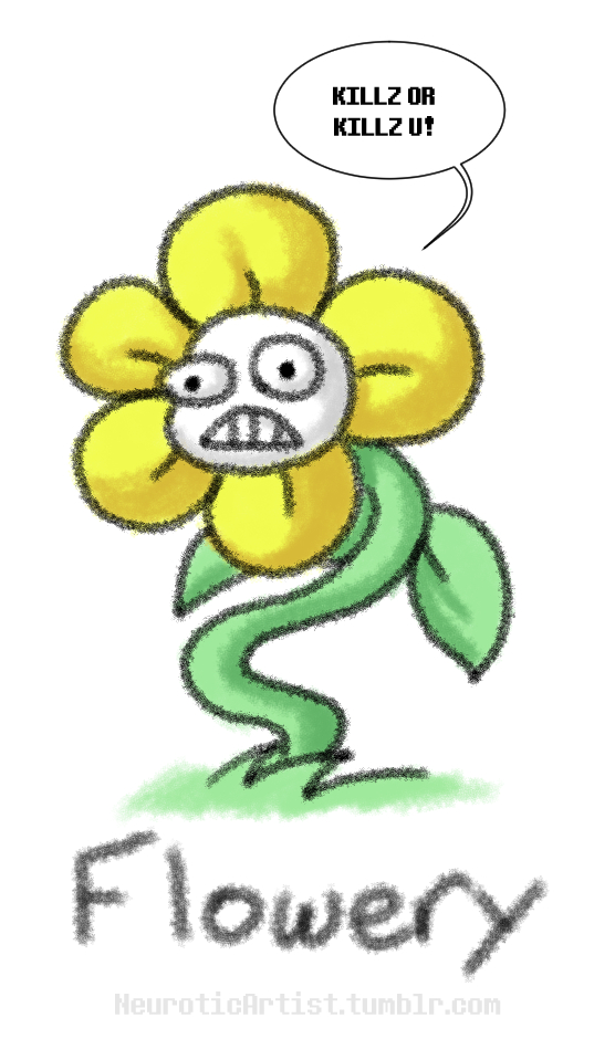 Undertale: Flowery