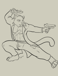 Cyberpunk Gun Kata