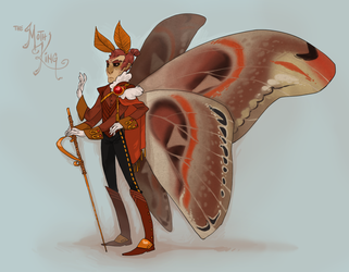 Not My Art Moth King