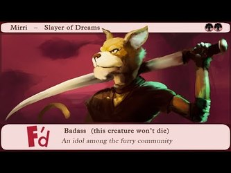 VIDEO: Summoning Furries in Magic The Gathering | Episode 56