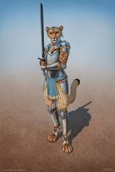 Sparring With Alpha Nika'maar - Armor Version