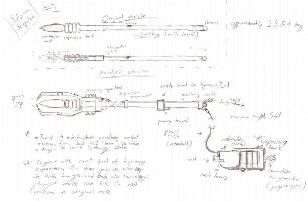Storm Scepter concept