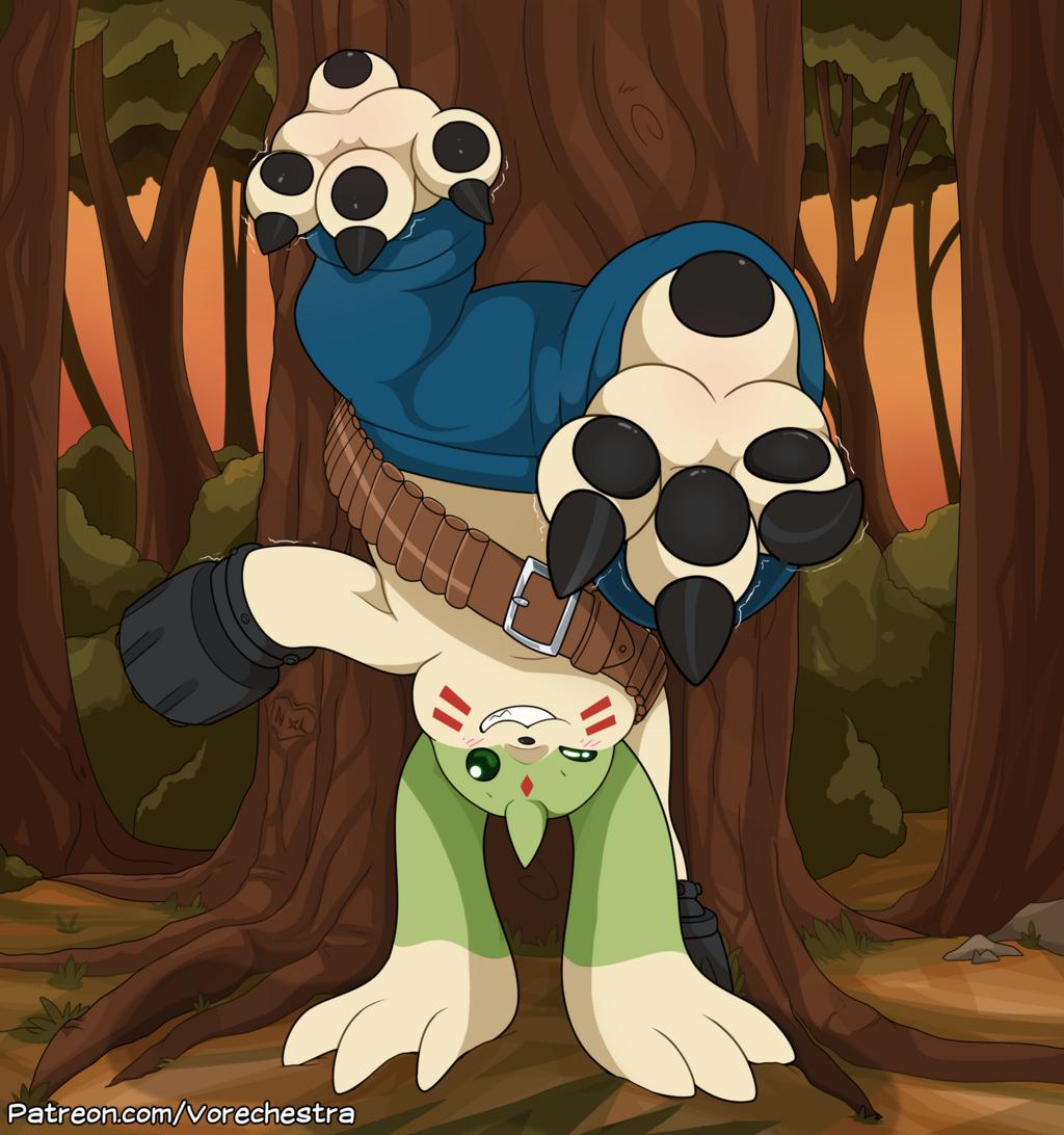 Most recent image: Gargomon's Handstand!