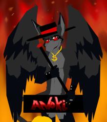 Devilish Gryphon Badge