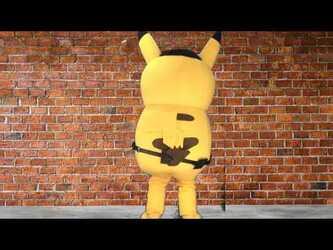 "Mascot Fursuiting: Ace Spade ""Dramatic Pikachu"" Meme"