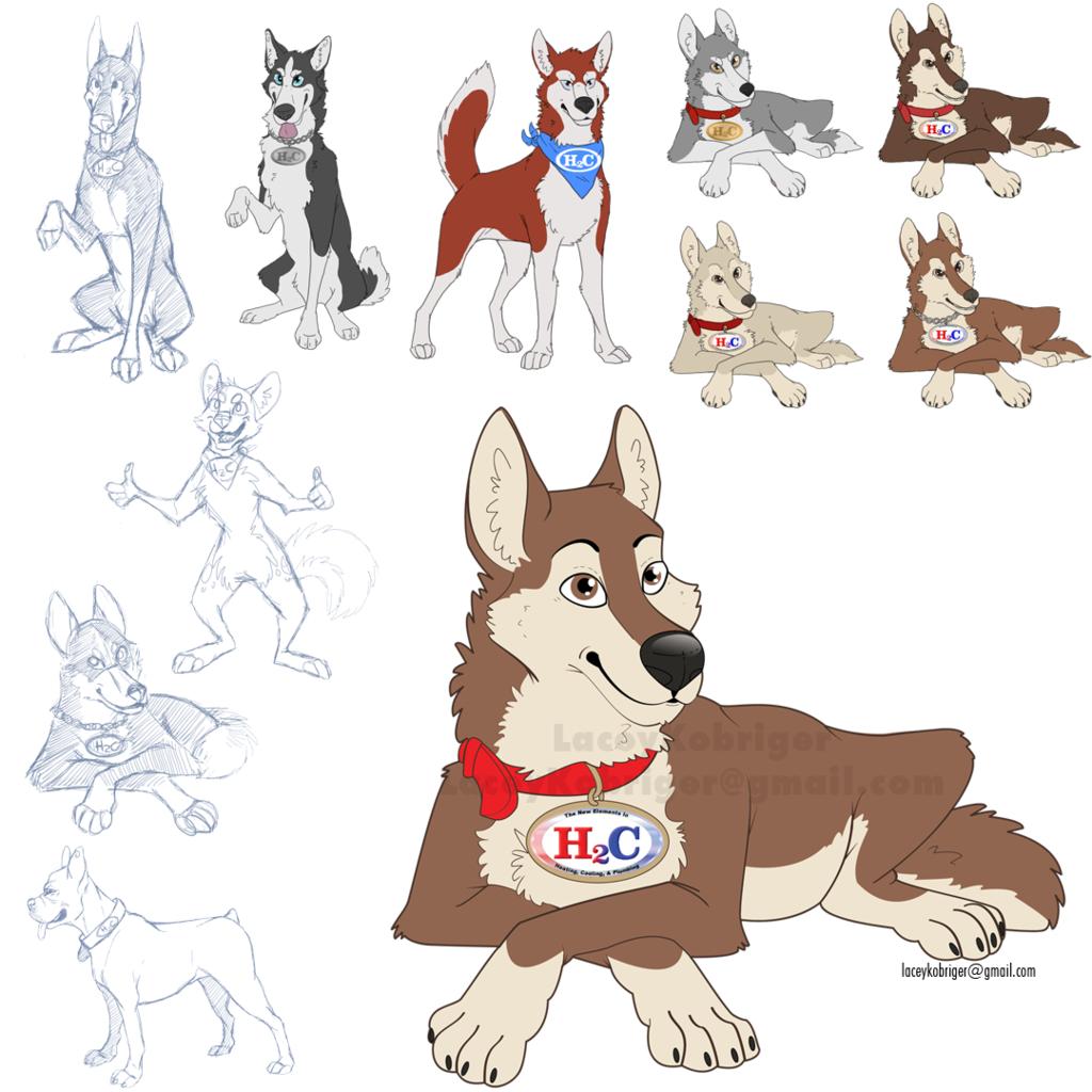 Commission - Mascot