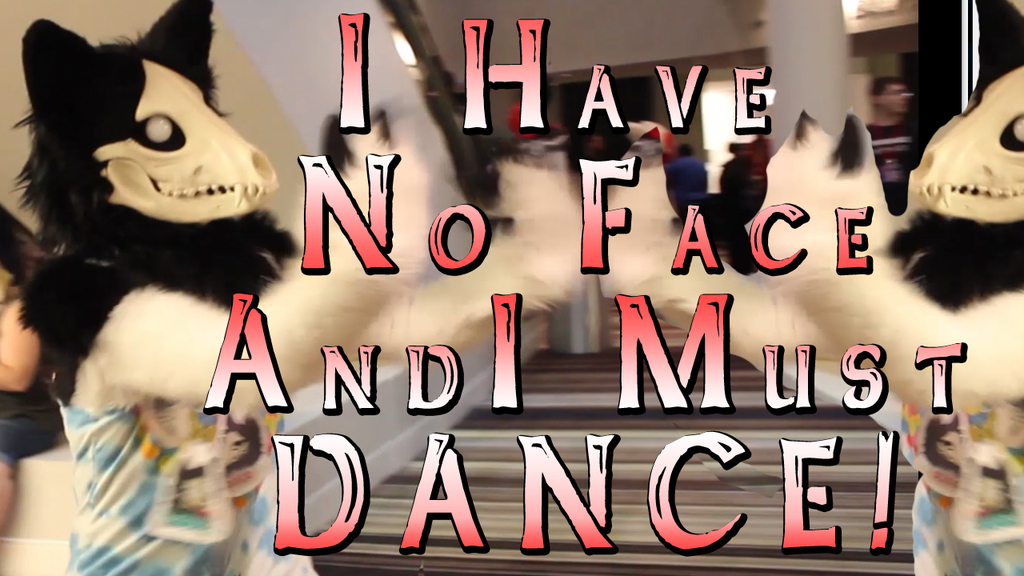 Fursuiter I Have no Face And Must Dance