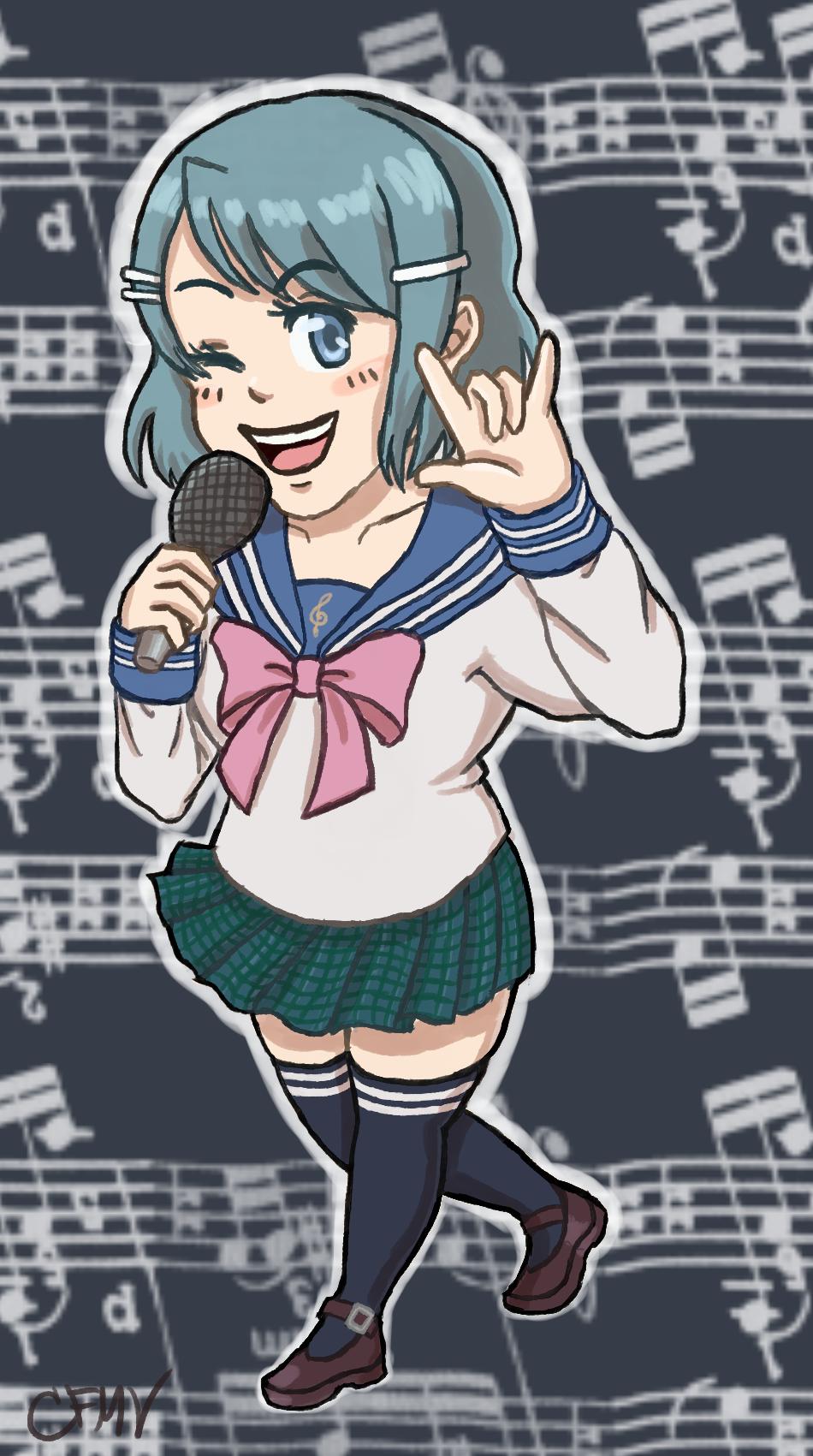 (old art) Sayaka as Sayaka