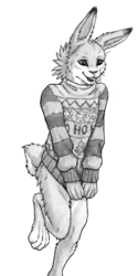 Vik and the Ugly Christmas Sweater By SkyeLegs