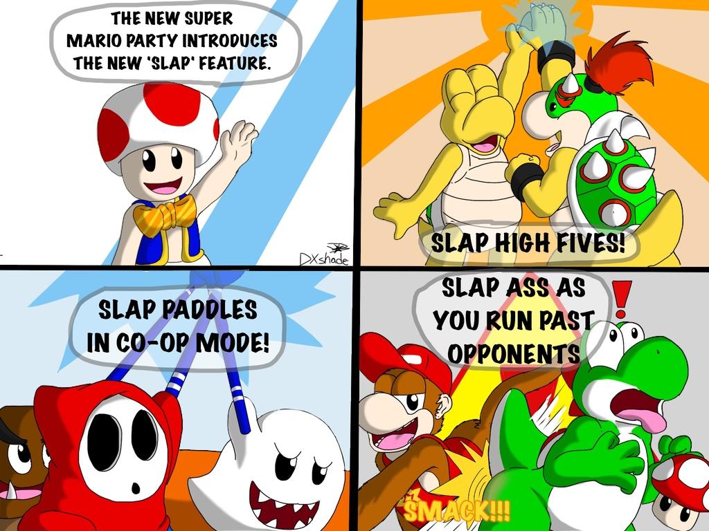 Super Mario Slap Party