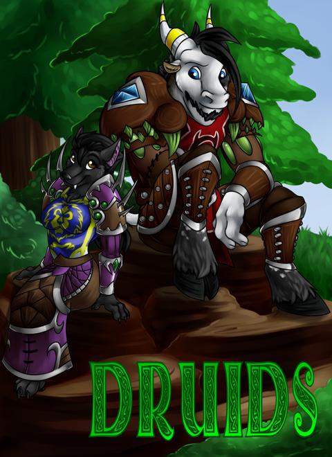 Druids Comic