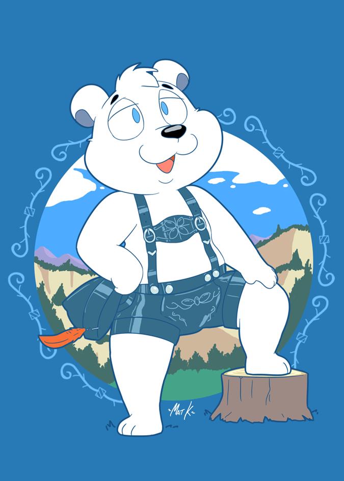 Herschel the polar bear