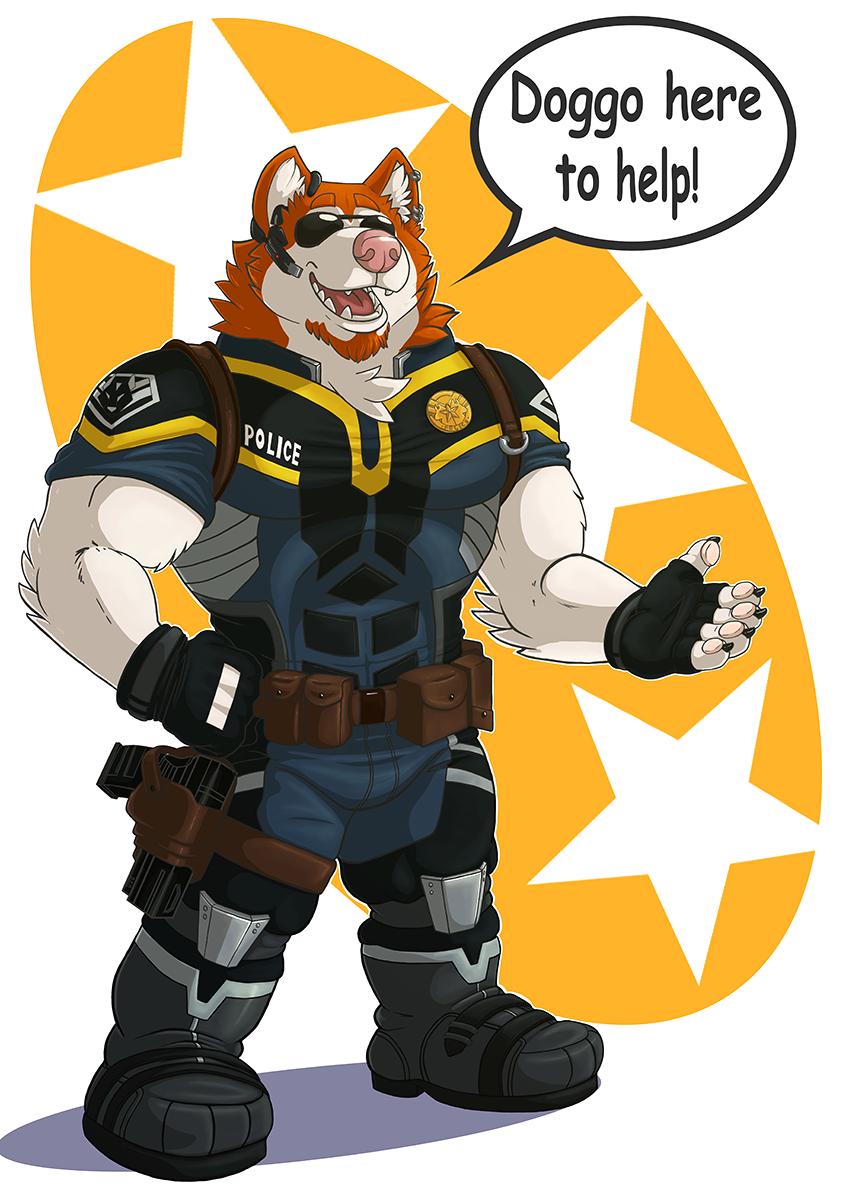 Doggo here to help!