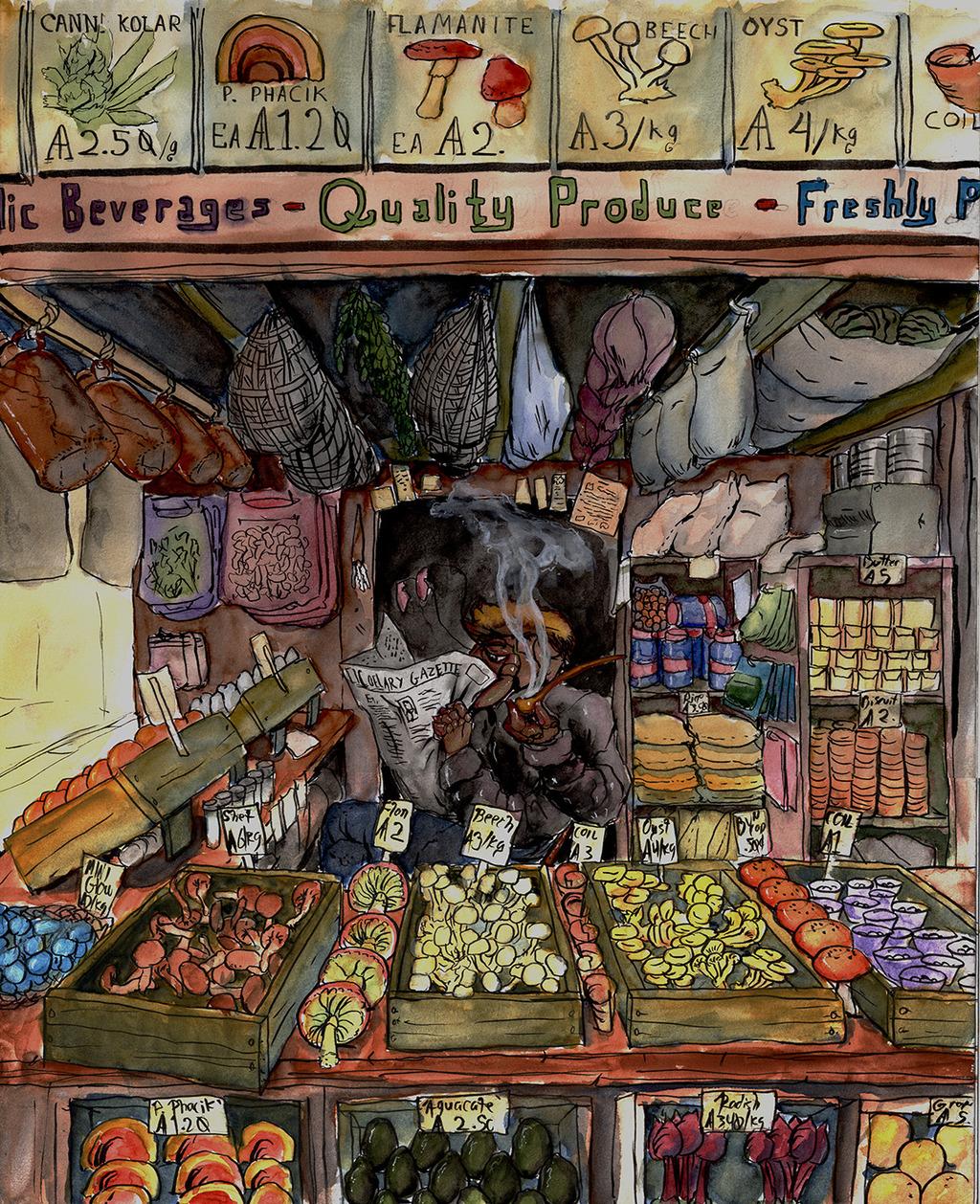 Coelary Market