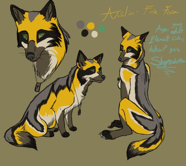 Aislin Character Sheet Redo (Fox Form)