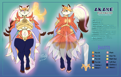 [Commission] Akane Refference Form 4