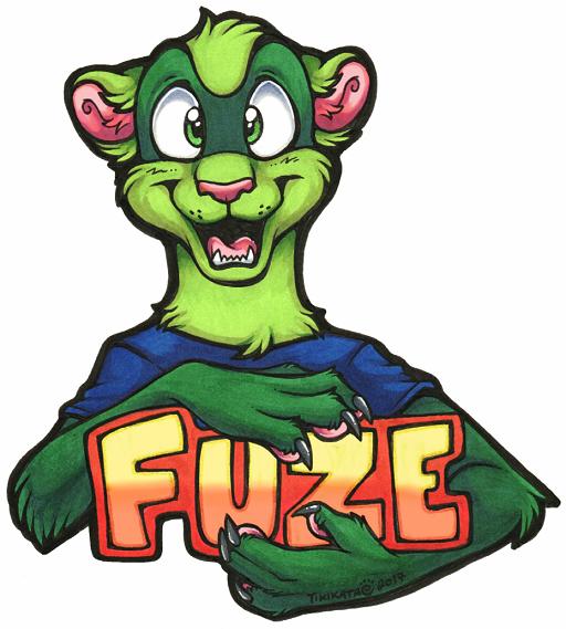 Fuze Badge (AnthrOhio 2017)