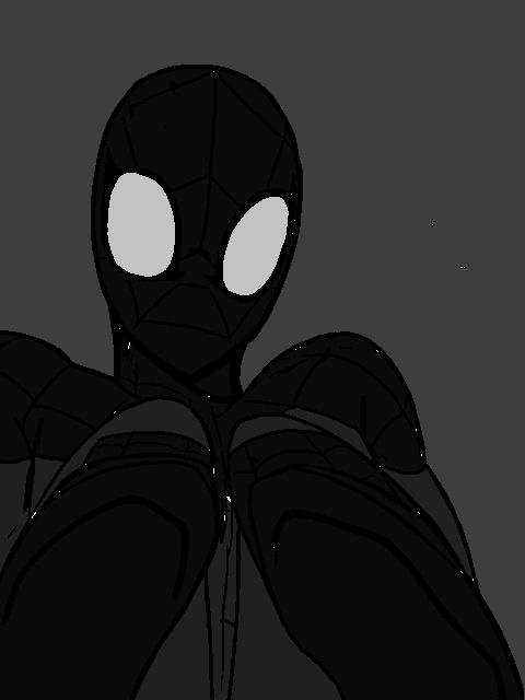 Mike parker symbiote Spiderman The Spider Symbiote Hero