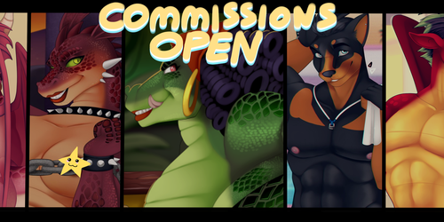 Limited Commission Slots [Open]