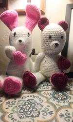 Valentines Bunny & Bear