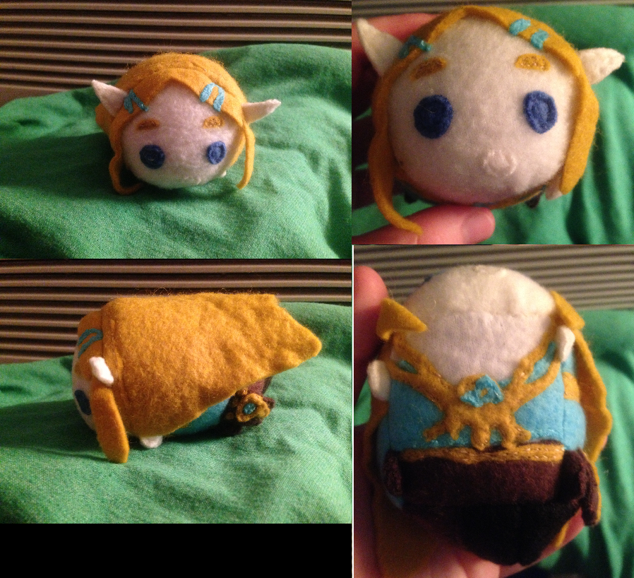 "Breath of the Wild Princess Zelda ""Travel Outfit"" Tsum - Commmission for lizzieanne98"
