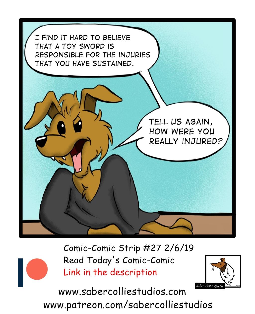 Comic-Comic #27 (2/6/19)