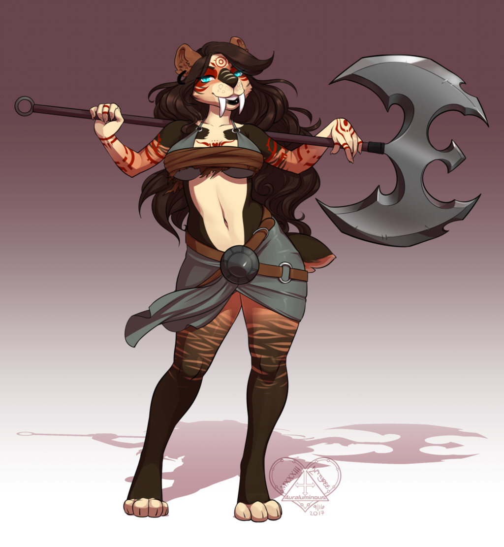 [C] And MY Axe