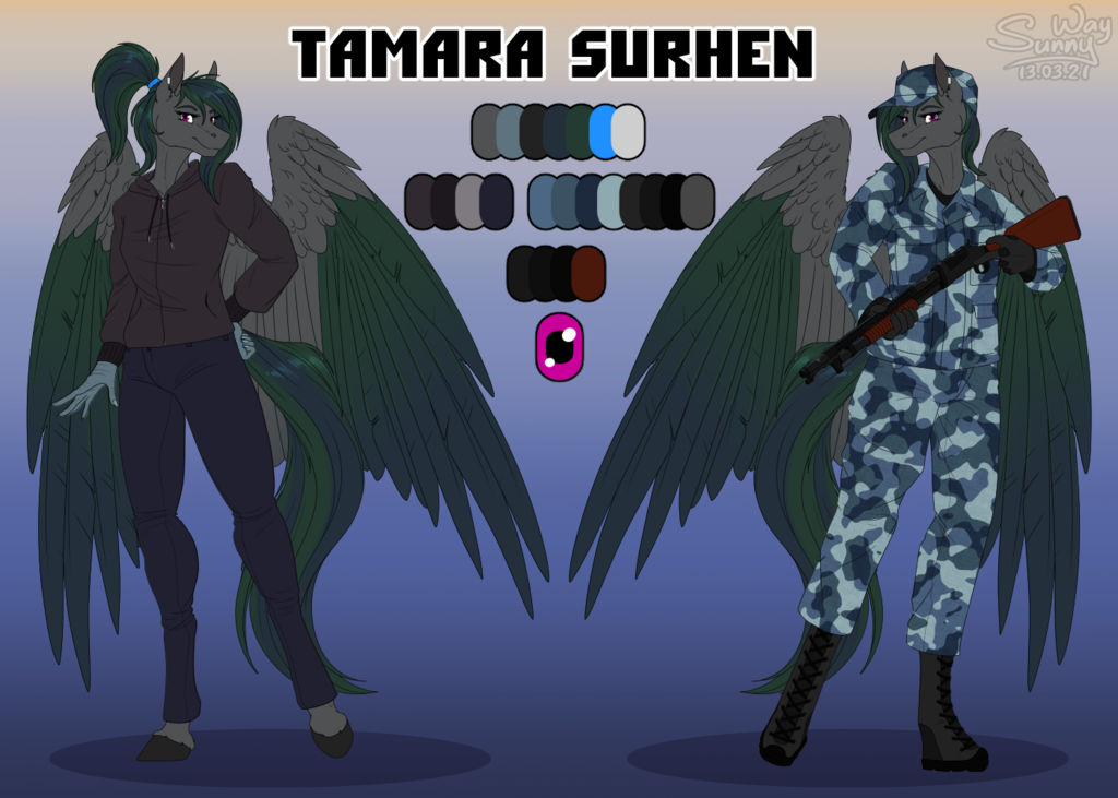 Most recent image: Tamara Surhen reference