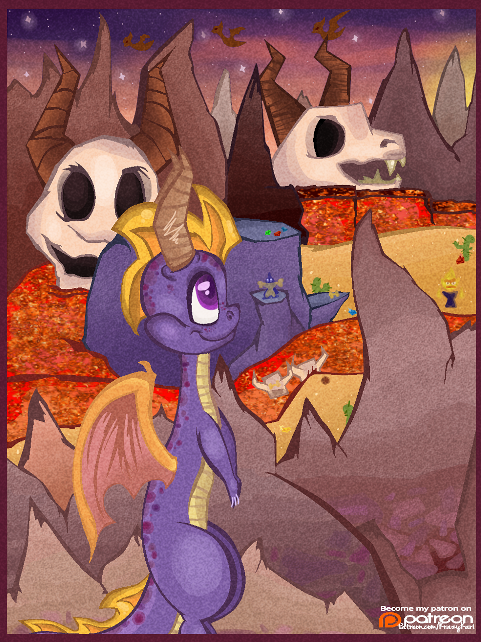 (Spyro the Dragon) Skelos Badlands