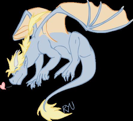 Ryu, winged lovey