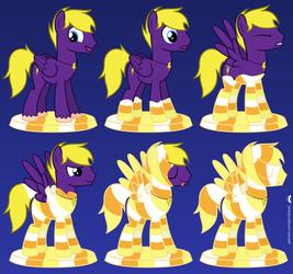 Instant Candy Corn Pony