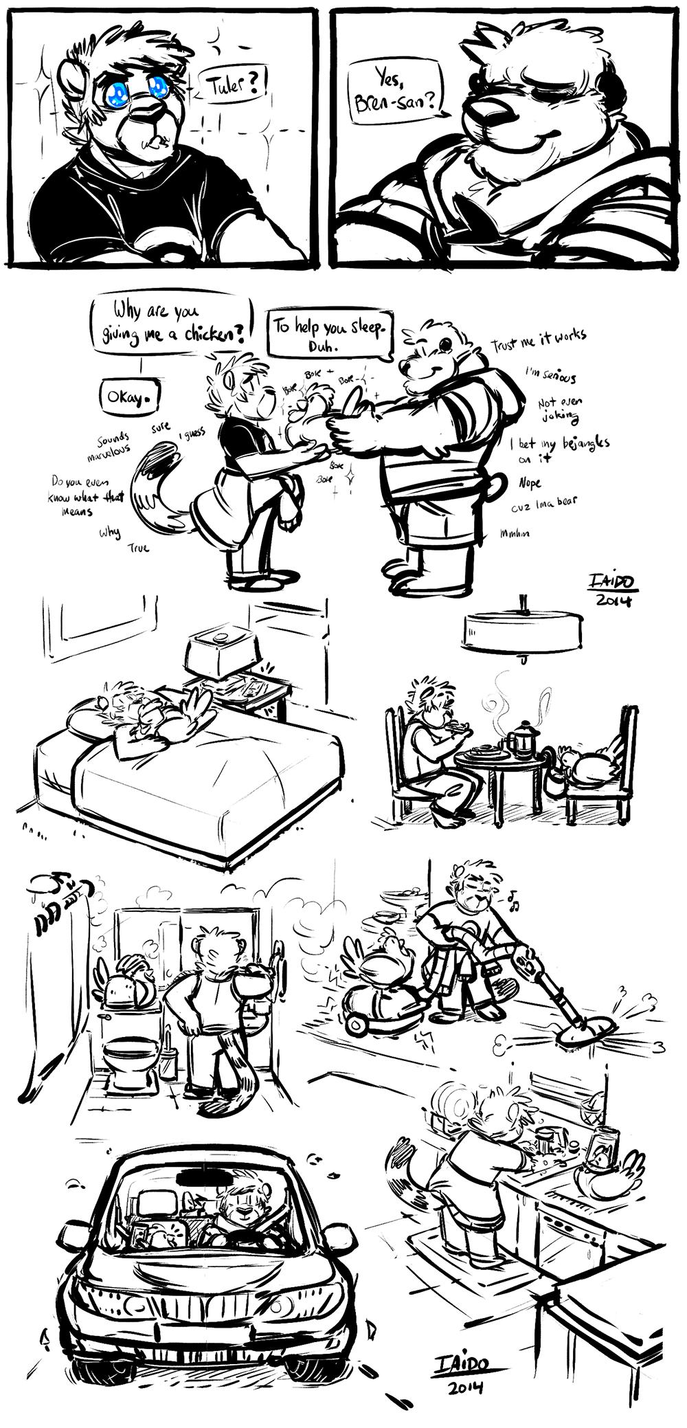 Iaido & Chi-Kun's Daily Adventure