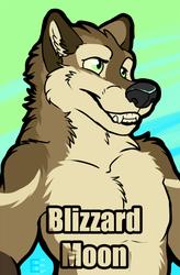 BlizardMoon Laser Badge Art