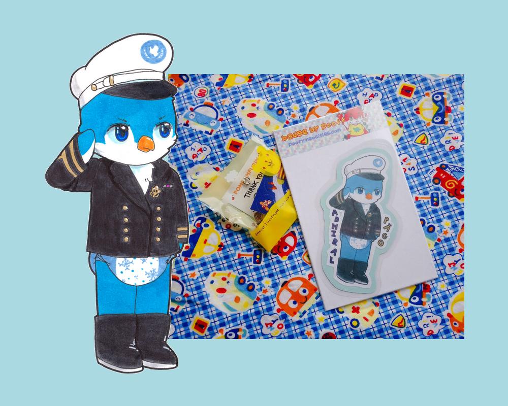 admiral pägo badge