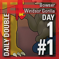 Daily Double 1 #1: Bowser/Windsor Gorilla [REMASTERED]