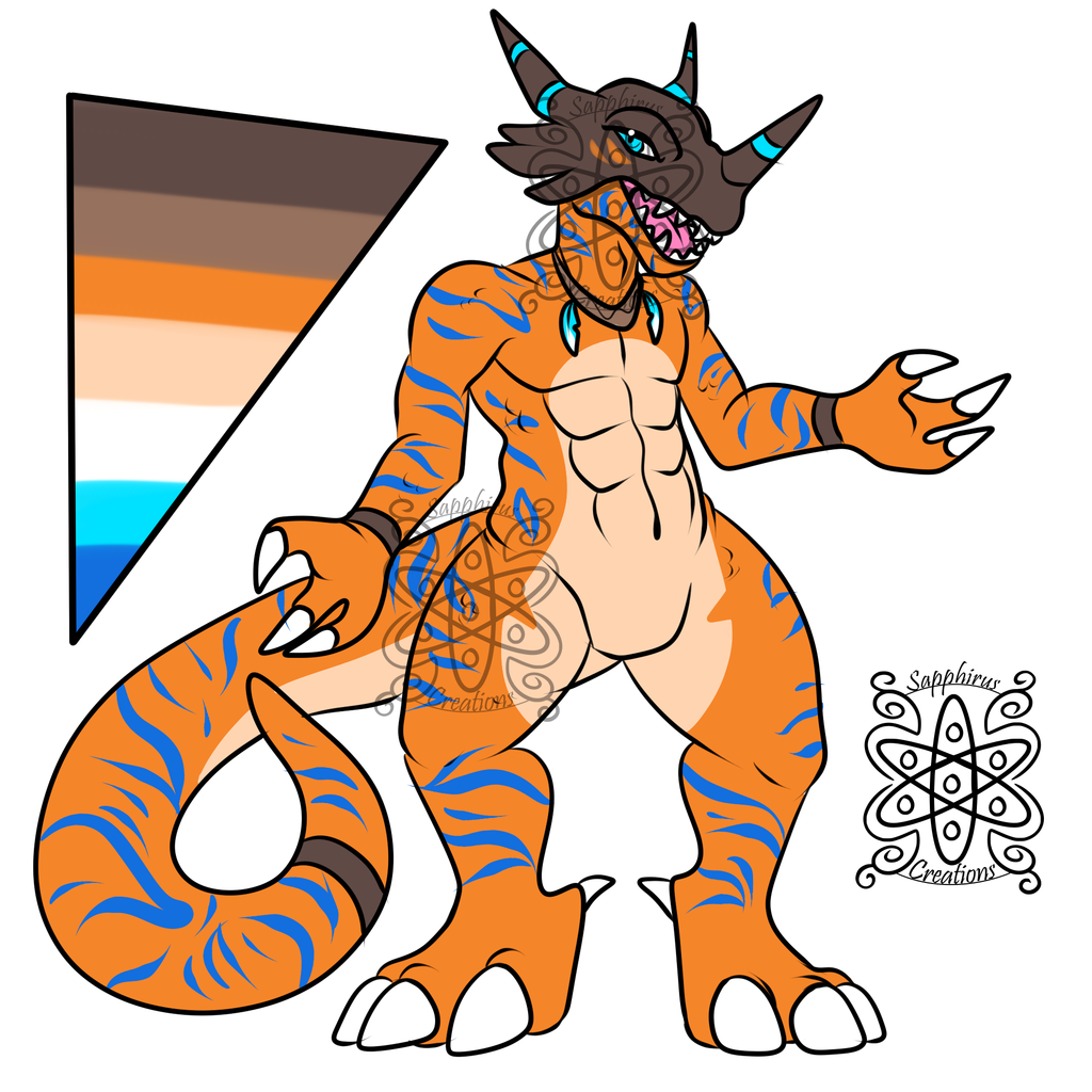 Male Greymon +Design+ (SOLD)