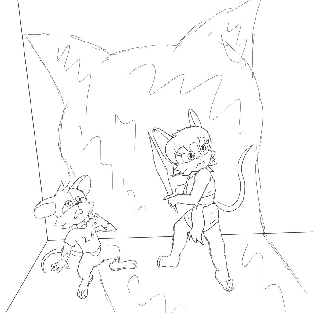 Cornered Sketch