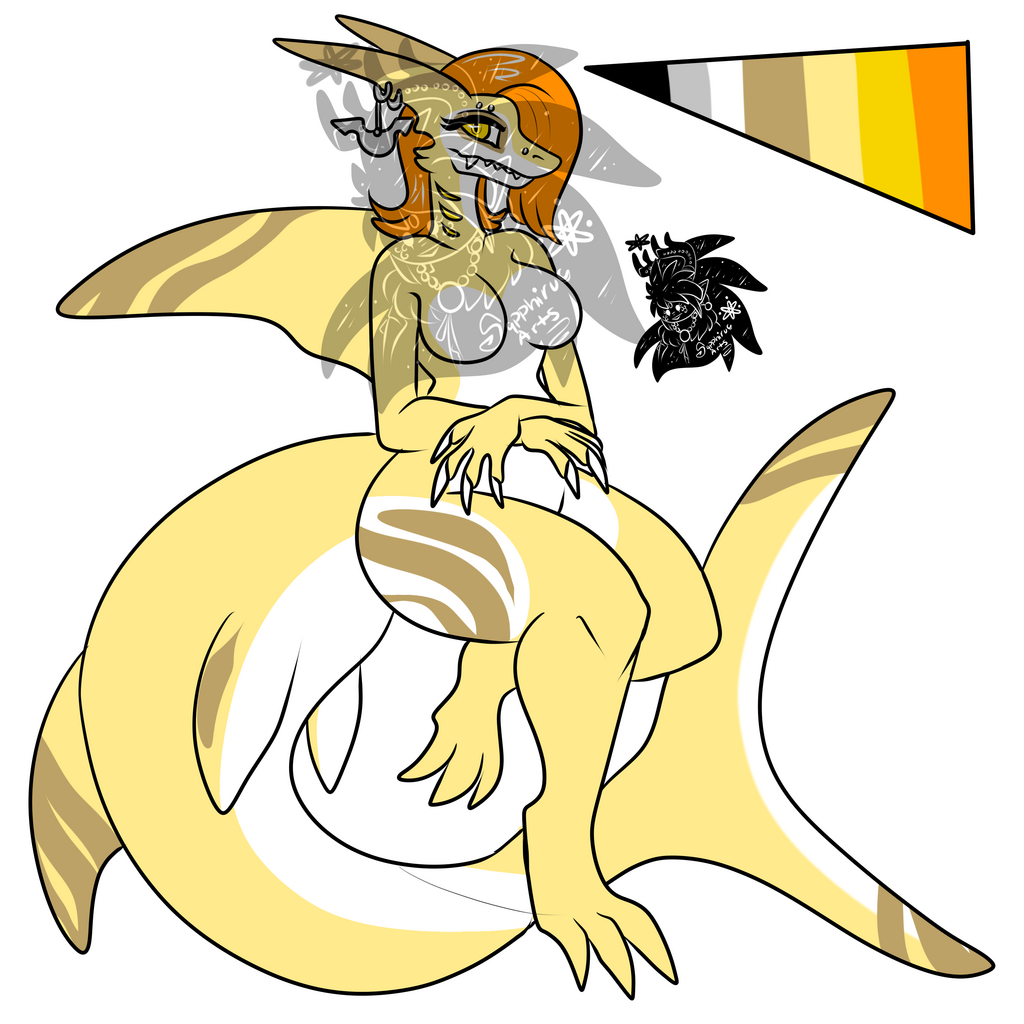 Female Lemon Shark +Design+ (SOLD)