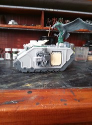 WIP: Excelsior land raider conversion