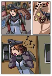 [commission] spider comic 6
