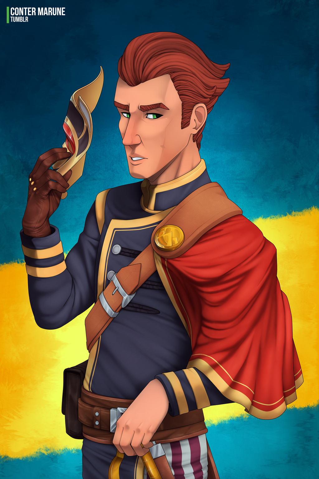 Cicero Gavar Portrait