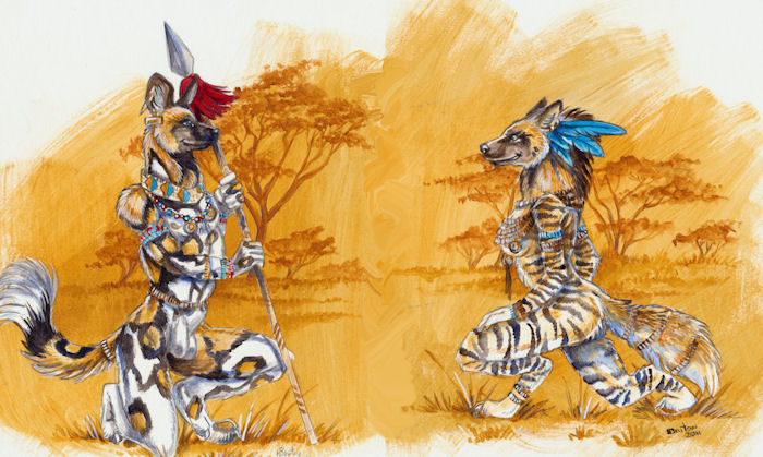 'Prep for Pounce' by Heather Bruton