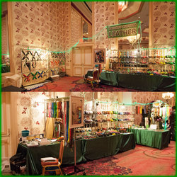 TFF 2014 Lagarto Custom Leather Booth