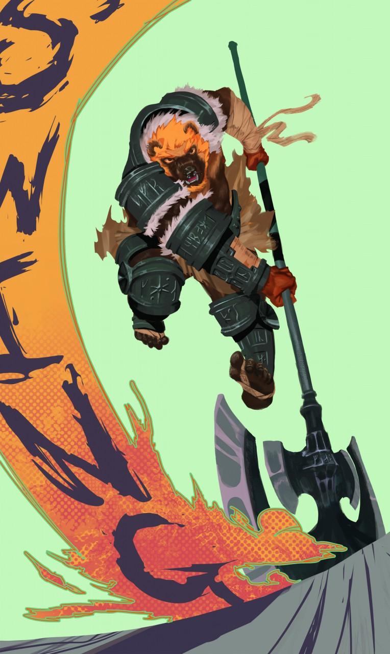 Most recent image: Berserker Swing