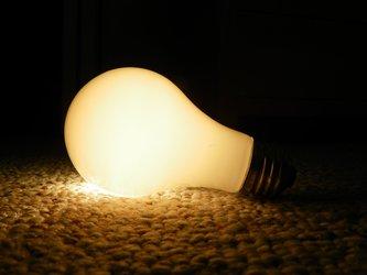 Unscrewed Light Bulb