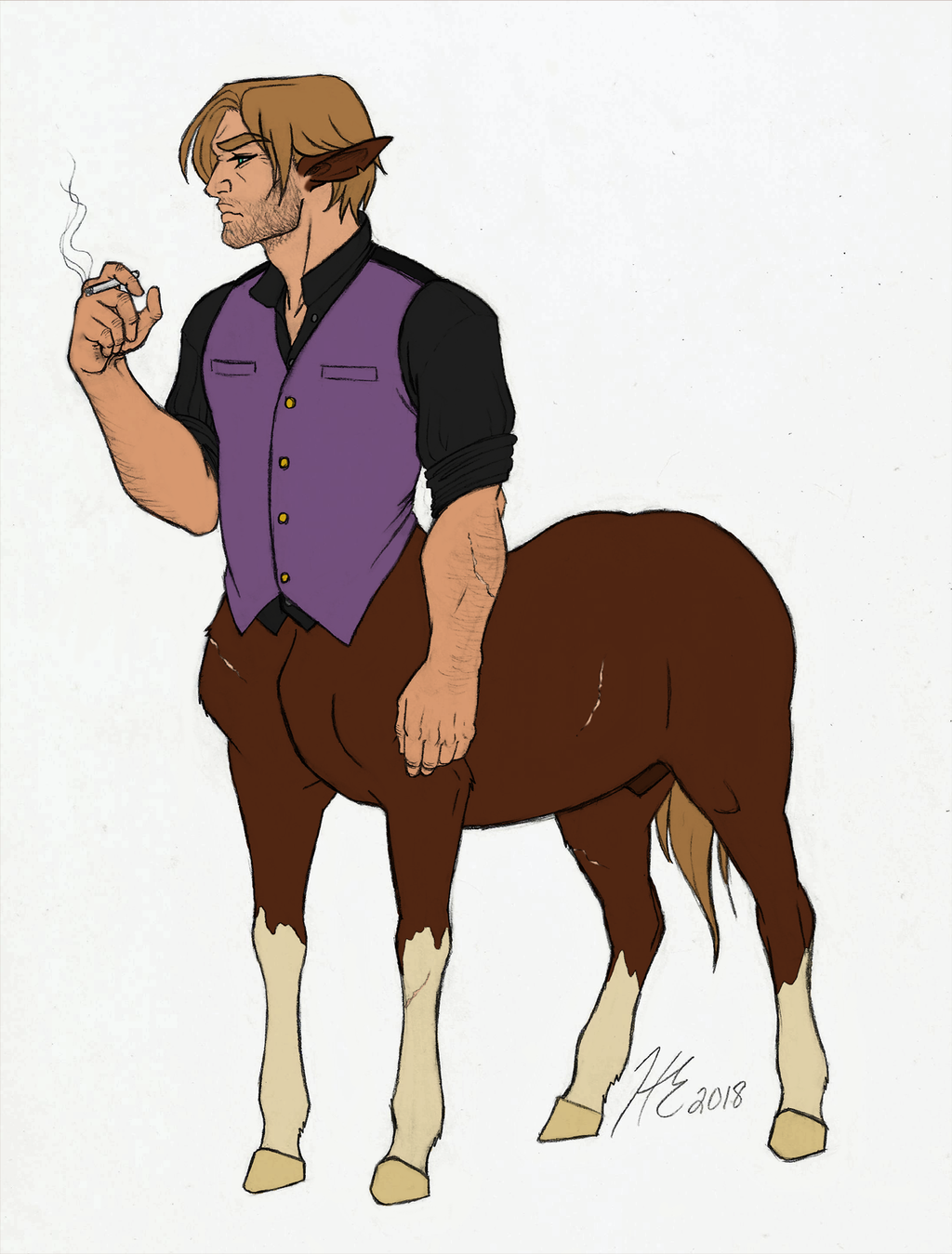 Most recent image: Centaur Arthur Morgan