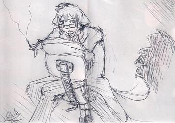 receipt sketch: sakropachi sensei after hours