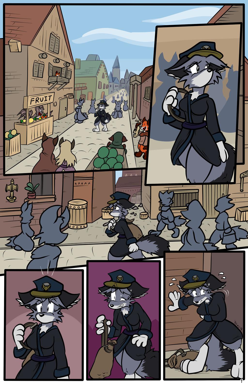 Long Night, page 1